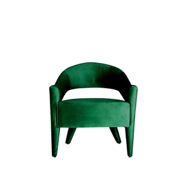 Lola Chair Emerald Green