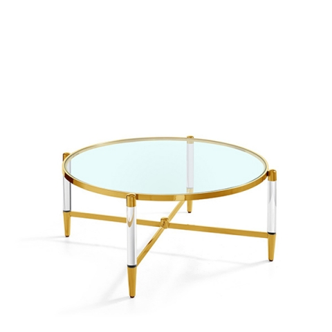 Luxe Coffee Table Gold