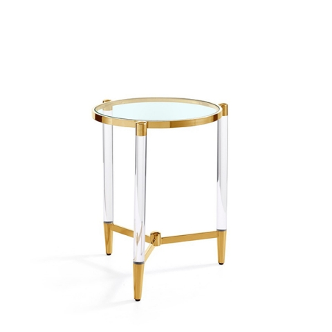 Luxe Side Table Gold