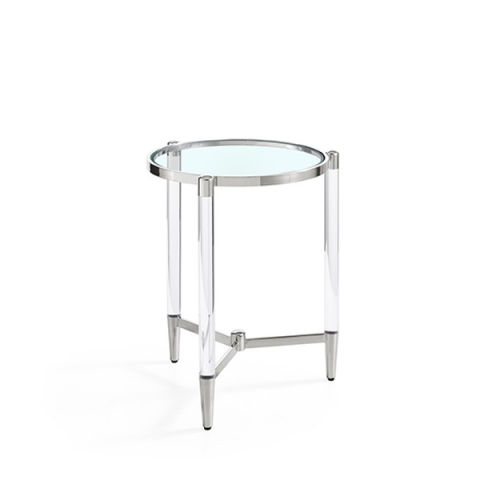 Luxe Side Table Chrome